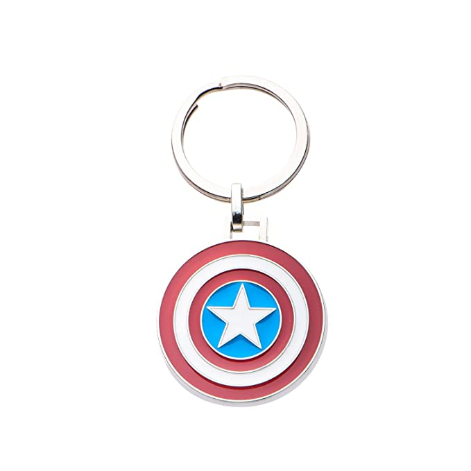 Marvel Acero inoxidable oficial Comics Capitán América Logo ...