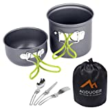Camping Cookware Mess Kit - Aoduoer Cooking