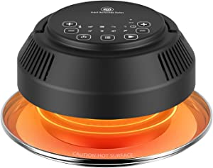 CSS Air Fryer Lid Pressure Cooker Lid - CrispyTop for 6&8 Qt Pot Basket, Air Fryer Transformer, Turns Your Pressure Cooker into Air Fryer/Dehydrator/Broil. Trivet, Silicone Mat, Instant access
