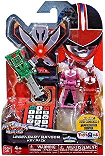 Power Rangers Super Megaforce - Time Force Legendary Ranger Key Pack, Green/Pink/
