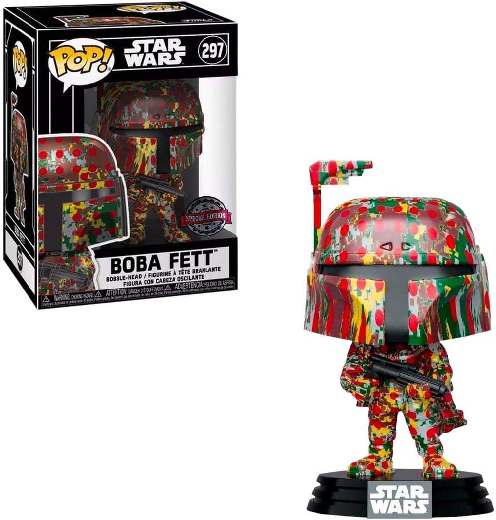 Funko POP Star Wars: Black /& Green Futura Boba Fett Hat Target mandalorian