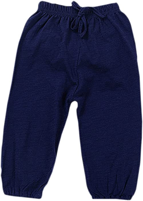 4ee450c579 Brightup Bamboo Cotton Pants For Kids Baby, Little Girl Boy Trousers  Pajamas: Amazon.co.uk: Clothing