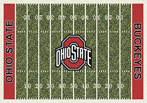 NCAA Home Field Rug - Ohio State Buckeyes, 3'10'' x 5'4'' by Millilken