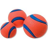 Chuckit Ultra Ball, Durable High Bounce Rubber Dog Ball, Launcher Compatible, 2 Pack, Medium