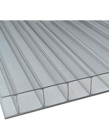 Ironlux Placa o Panel de policarbonato Celular - 10mm, 1000x1050 (Incoloro/Transparente)