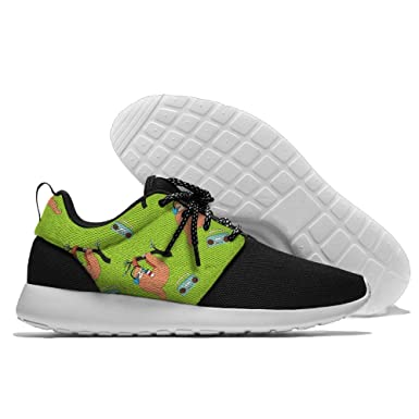 Sloth Drinks Lightweight Breathable Casual Sports Shoes Fashion Sneakers Shoes