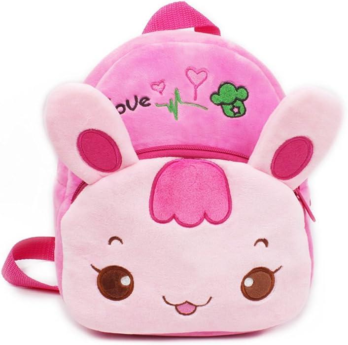 8021d3c8a41c9 Kindergarten Rucksack Kinder Schule Tasche Karotte Kaninchen Satchel Tasche  für Jungen Mädchen