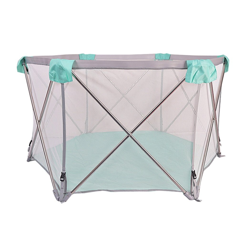 Baby Color : Green, Size : 137 * 78cm Protective Fence playpen baby playpens for toddler playpen baby Play Yard Home play fence playpens for babies Playmat Baby Activity & Entertainment
