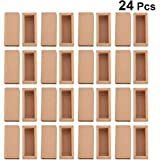 TOPBATHY 24 Sets Empty Paperboard Gift Box Reusable Jewelry Storage Box Candy Boxes Cosmetics Case Tea Holders for…