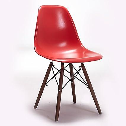 Amazon.com - ZXL Dining Chair Guest Room Restaurant Bedroom Living ...