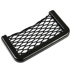 Siège auto voiture sac de rangement Filet Poche latérale pour téléphone portable Organiseur Filet automatique universel Mini