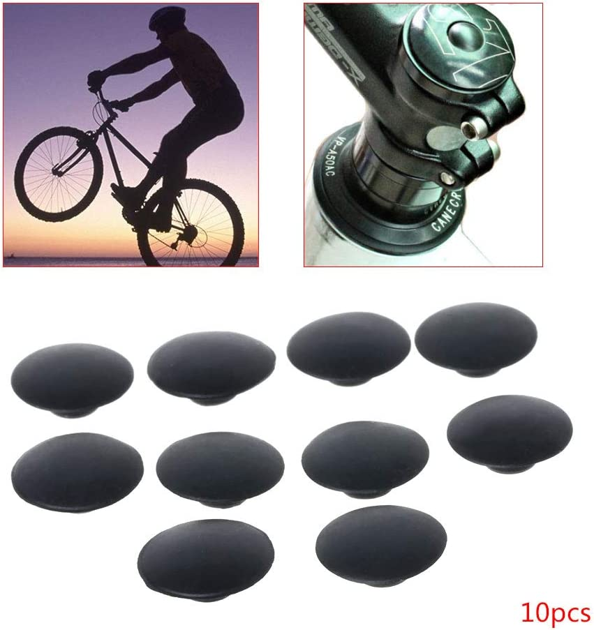 Accessories Outdoor MTB Bike Bicycle Headset Cap Stem Top Cover Bolts Parts
