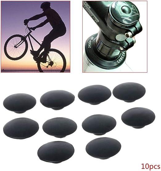 JERKKY 10 Piezas de Bicicleta Tapa de Auriculares Impermeable a ...