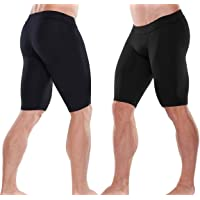 EXEfit Mens Thermal Compression Shorts Base Layer Running Briefs Underwear Athletic Sports Rugby Swimming Beach Outdoor…