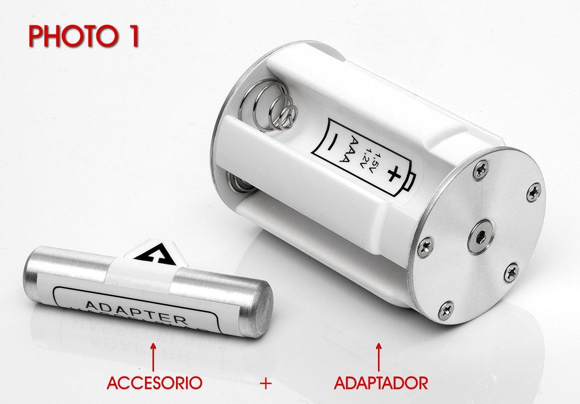 HASSELBLAD Battery Adapter 500 EL/ELM / ELX - (Utiliza baterí as 1, 5 V / 1, 2 V Tipo AAA) SERVICIOS FOTOGRAFICOS BN