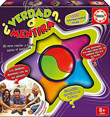 Educa Borrás - ¿Verdad O Mentira?, Multicolor (Educa Borrás 16989 ...