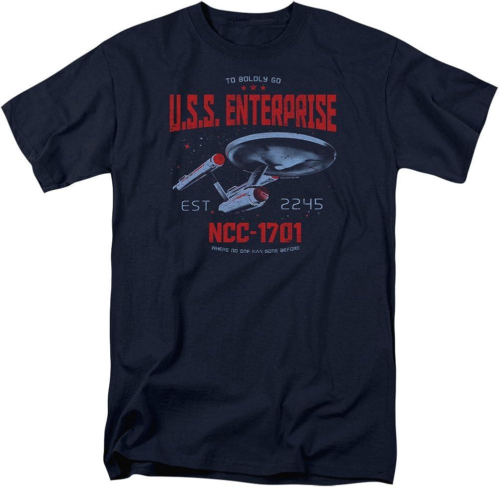 Star Trek Ncc1701 Adult Work Shirt