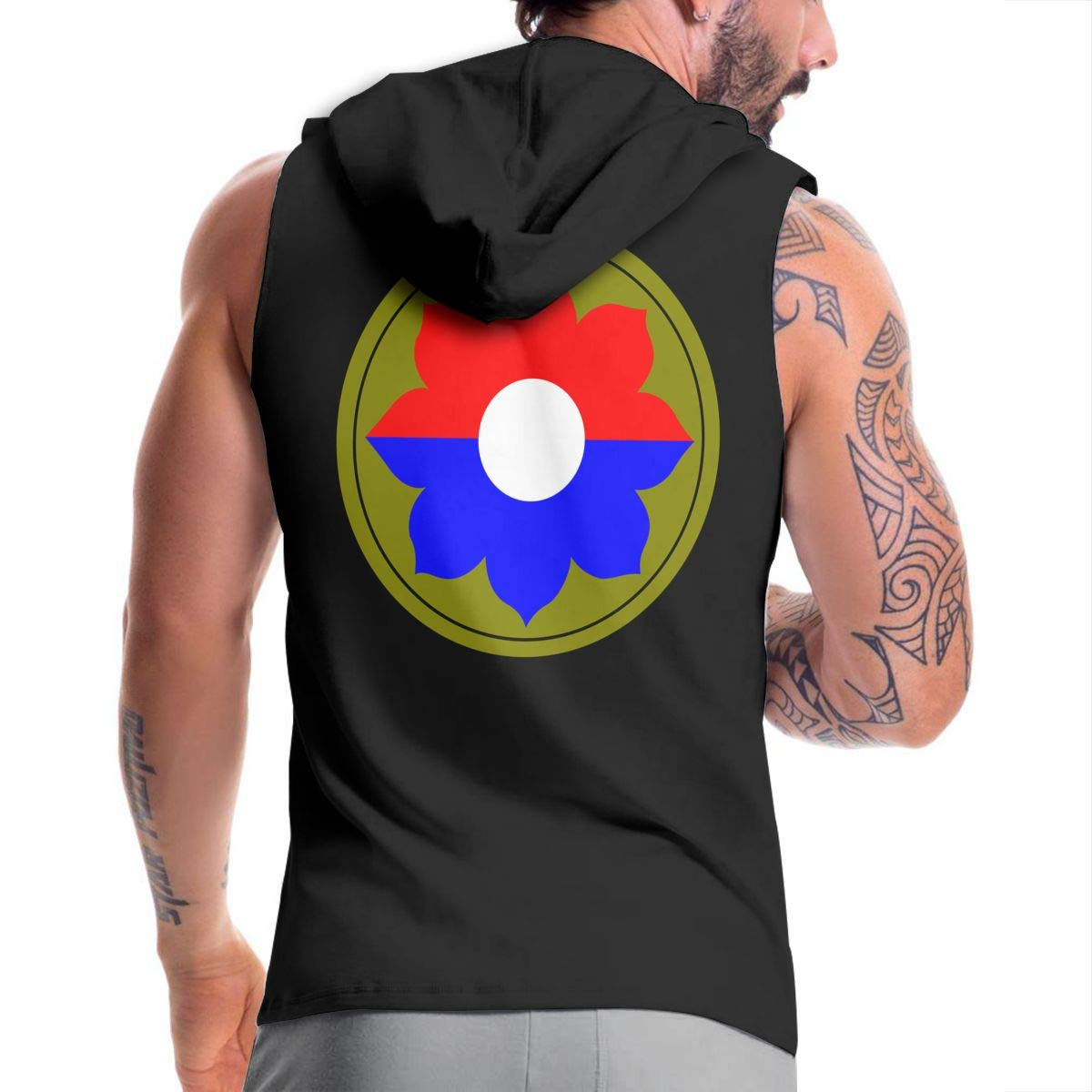 9th Infantry Division Mens Hipster Hip Hop Hoodies Shirts