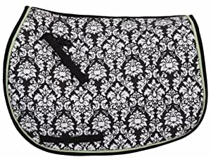 Equine Couture Damask All Purpose Saddle Pad Jade
