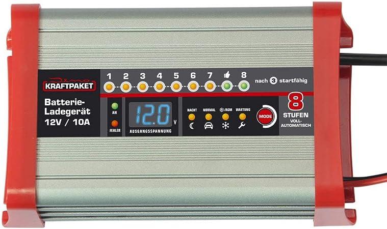 Dino KRAFTPAKET 10A 12V24V Batterieladegerät mit