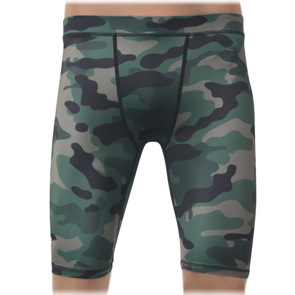 CompressionZ Men's Shorts, Small - Camouflage