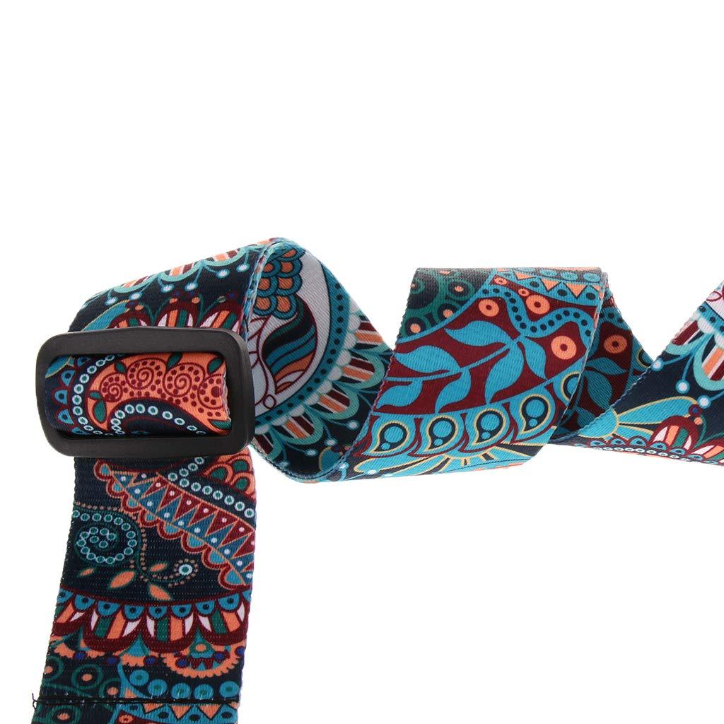 C Sharplace Cinturino Regolabile Per Chitarra Elettrica Allargabile Per Chitarra Elettrica