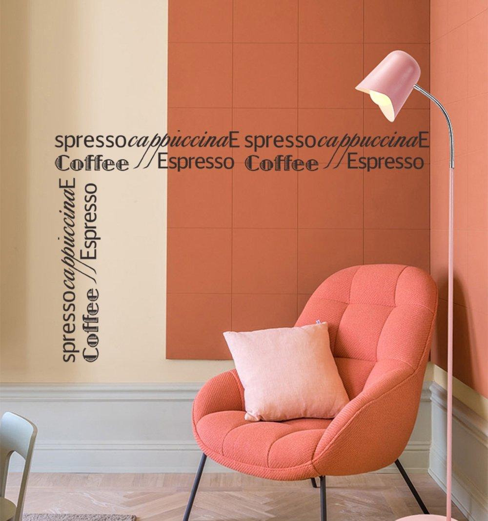 ... Kaffee Wandtattoo Sprüche Coffee Cappuccino Espresso Grenzen  Wandsticker Schwarz Wandaufkleber Entfernbarer Wanddekoration Für  Wohnzimmer Schlafzimmer