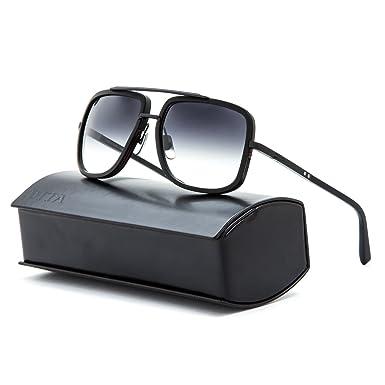 5b8b6ad8387 Amazon.com  Dita Mach One 1 Sunglasses DRX 2030C Matte Black   Grey ...