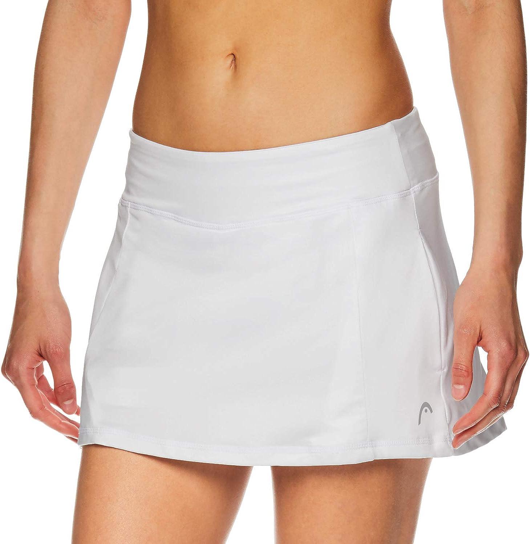 HEAD Womens Athletic Tennis Skort X-Large Performance Training /& Running Skirt Lead Skort Stark White