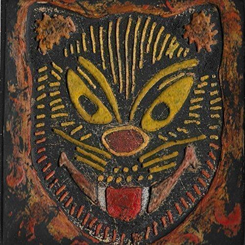 Amazon.com Vintage Halloween Mask Wood Art, Cat Design