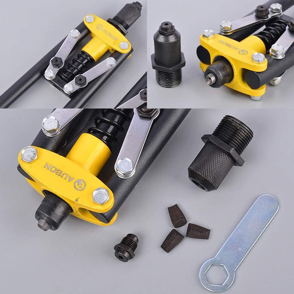 Hand Riveters Blind Rivet Guns,Driver Manual Riveter Gun Tool,Home DIY Tools Riveting 2.4Mm 3.2Mm 4.0Mm 4.8Mm Rivet-Gun 17inch SS Riveter 17inch Ss Riveter