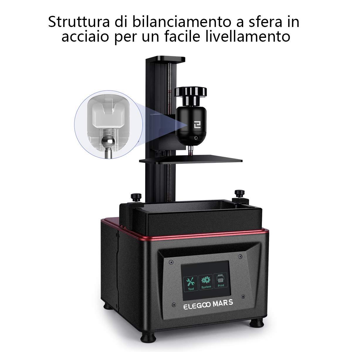 ELEGOO Impresora 3D LCD para Fotopolimerizante Mars UV con ...