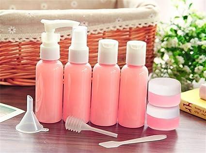 Botellas de viaje, coffsky transparente conjunto de botella de viaje ligero Bomba y Spray recipientes