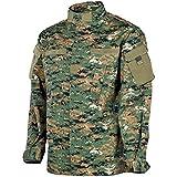 MFH Mens ACU Field Jacket Ripstop Digital Woodland Size M