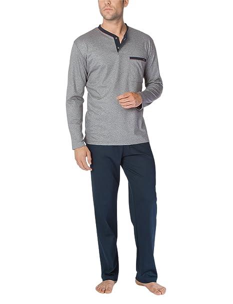 Calida Louis Pyjama, Conjuntos de Pijama para Hombre: Amazon.es: Ropa y accesorios