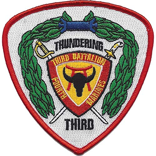 3rd Battalion 4th Marine Regiment Patch (Patch 4th Marines)
