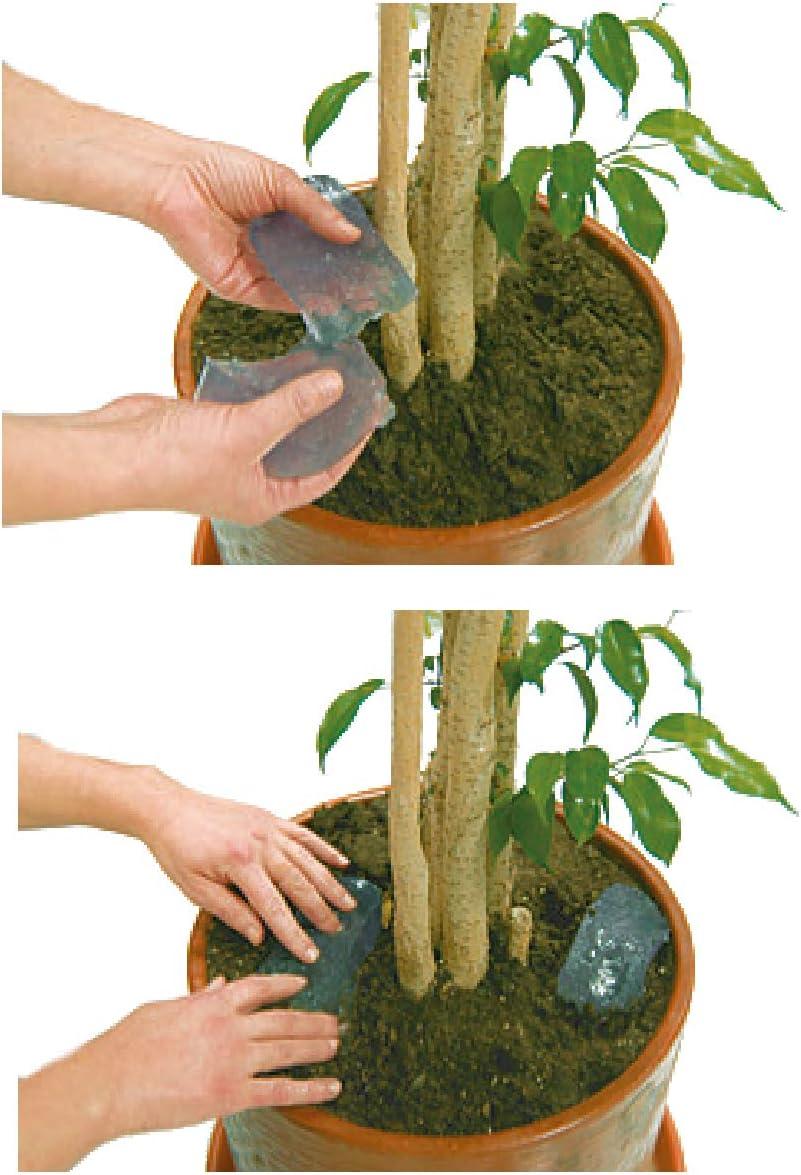 S&M 547041 Gel de riego HIDROBLOC para Plantas hasta 30 días sin regar-Saco 400 ml, Azul