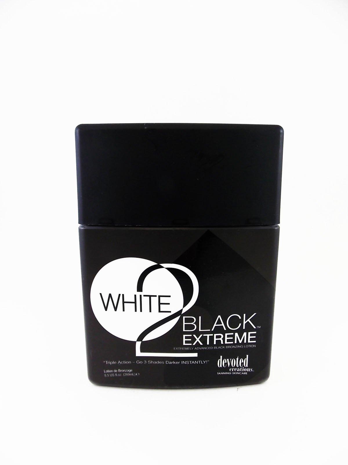White 2 Black Extreme Advance Black Bronzer 3 Shades Darker 8.5z by Devoted Creations