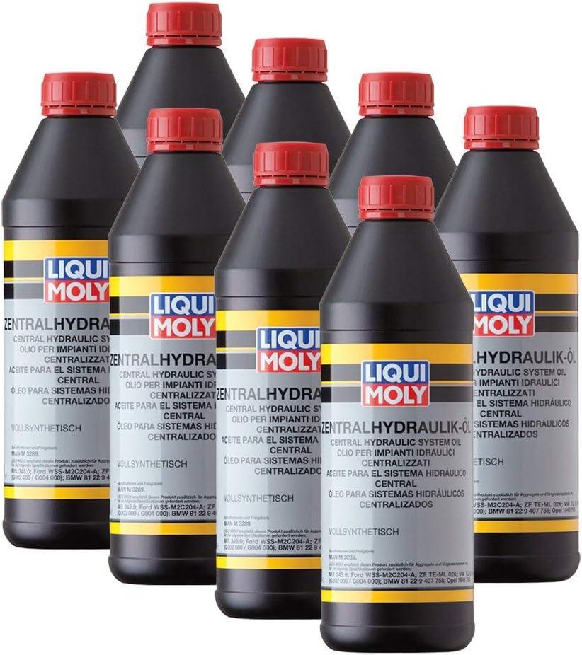 8x Liqui Moly 1127 Zentralhydraulik Öl Vollsynthetisch 3289 1l Auto