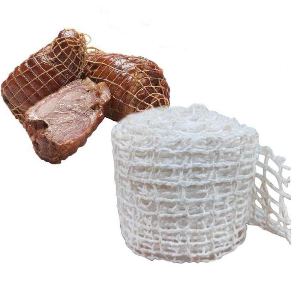 Aisoway Coton Viande Net Jambon Saucisse Rouleau de Filet Hot Dog Net Strings Saucisse Emballage Outils de Cuisine Outil de Cuisson de la Viande