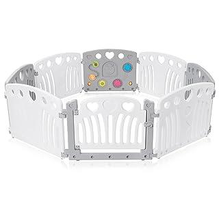 Baby Vivo Box Bambini Recinto Cancelletto Pieghevole Sicurezza Barriera Giochi Protezione Bianco Rosa Blu Judy