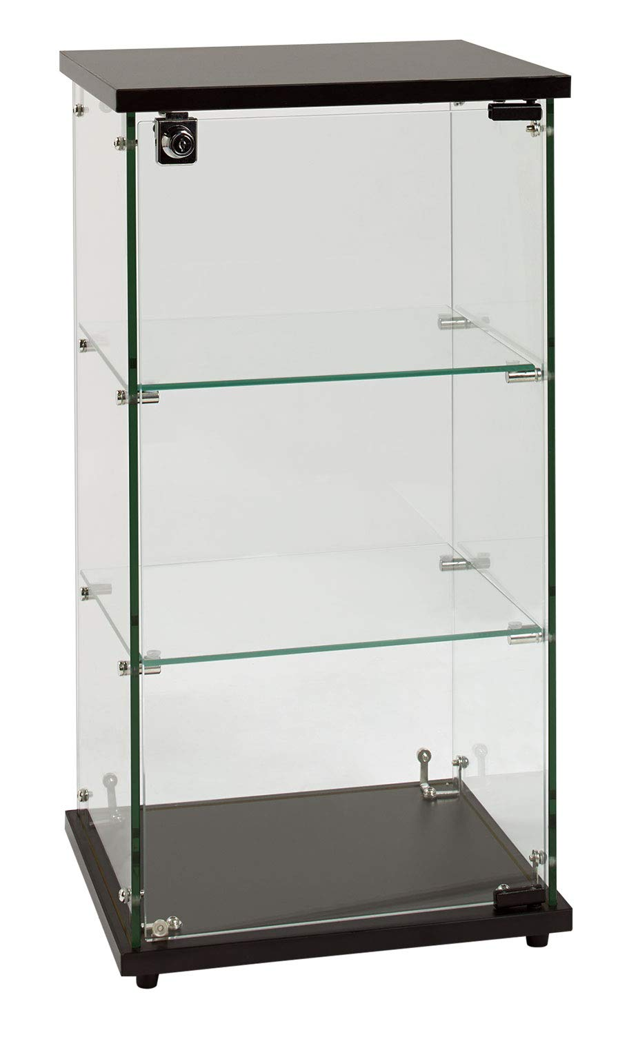 SSWBasics Infinity Countertop Display Case (Ready to Assemble) - 12-1/4''W x 14-1/4''D x 27-1/4''H