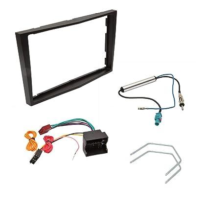 Vauxhall Corsa coche antena//Antena Adaptador Para Radio De Coche//CD ISO a DIN