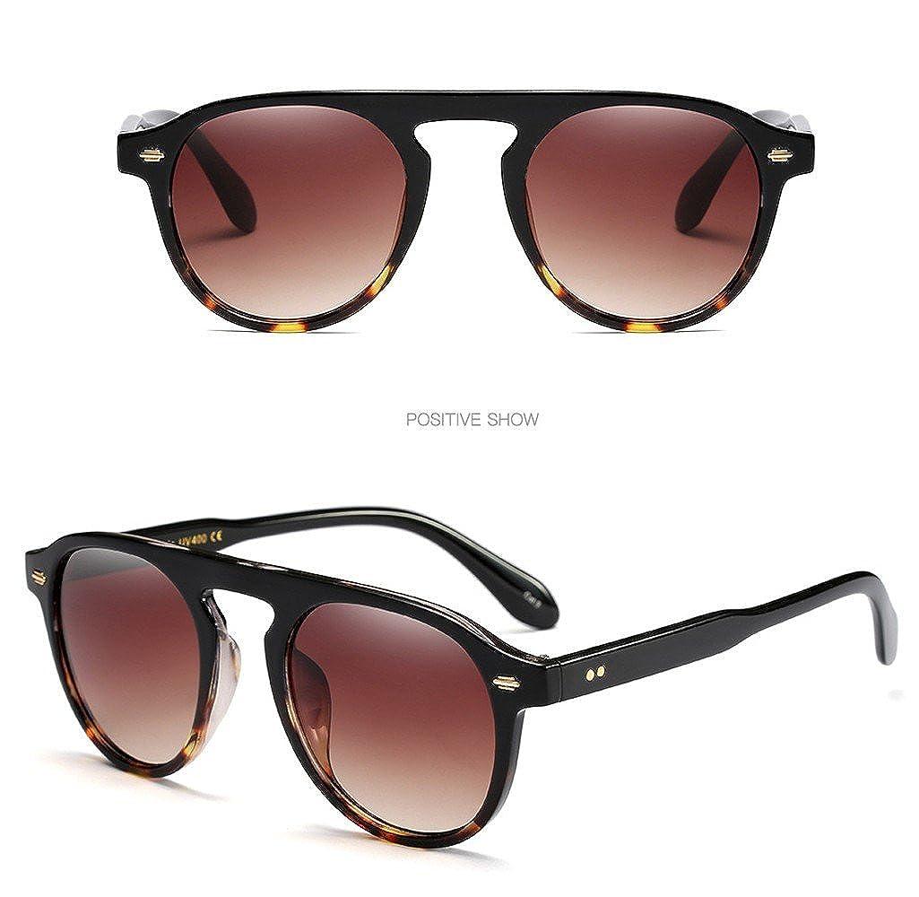 ♔IAMUP Women Men Fashion Vintage Oval Frame Sunglasses Women Men Fashion Outdoor Beach Retro Eyewear