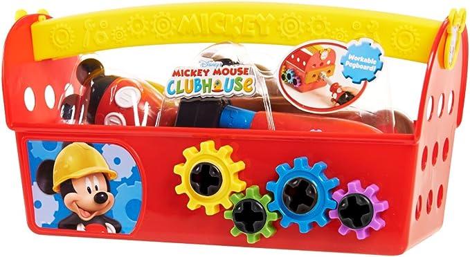 Mickey Mouse Club House Handy Helper – Caja de Herramientas: Amazon.es: Juguetes y juegos