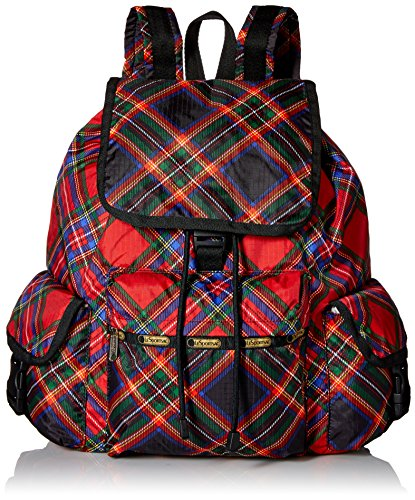 LeSportsac Voyager Backpack, Cozy Plaid Voyager, One Size