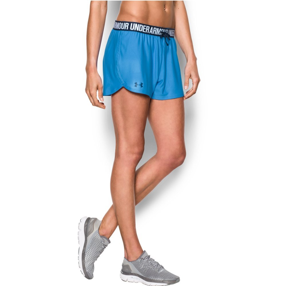 Under Armour Women's Play Up Short, Water/Midnight Navy, XX-Large by Under Armour