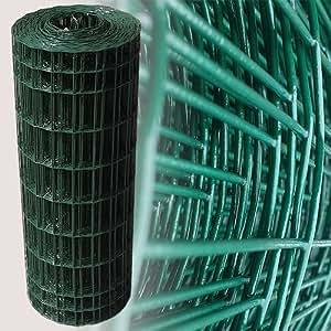 25 metros de altura maschendrahtzaun gitterzaun drahtzaun verde 80 cm de malla 5 x 10 cm. Black Bedroom Furniture Sets. Home Design Ideas