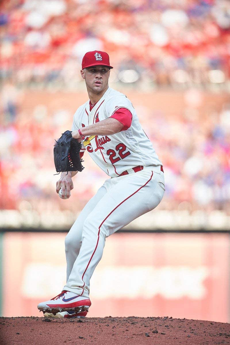 Jack Flaherty St. Louis Cardinals Poster Print, Baseball Player, Canvas Art, ArtWork, Real Player, Jack Flaherty Decor, Posters for Wall SIZE 24''x32'' (61x81 cm)