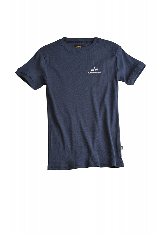 Alpha Industries Sport Rib T-Shirt Black